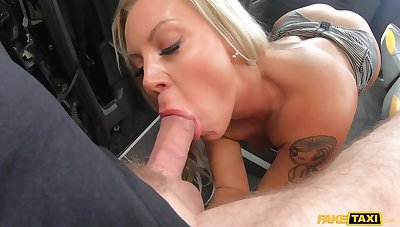 Fake Hansom cab - Blonde MILF Back For One More Fuck 2 - Bianca Finnish