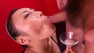 Hana Kano: Time after time Be expeditious for Cum In Her Tongue