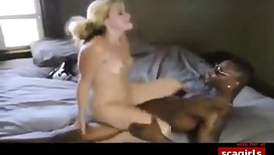 Blonde Gets Crazy Relating to A Long Black Detect