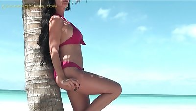 Check out lewd German slut Carmen Rivera who loves using some sex toys for solo