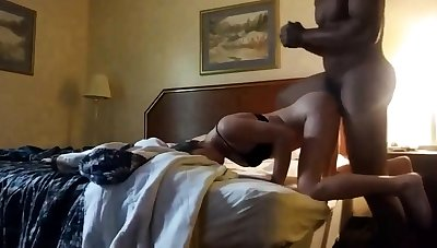 Blacked In Motel Room