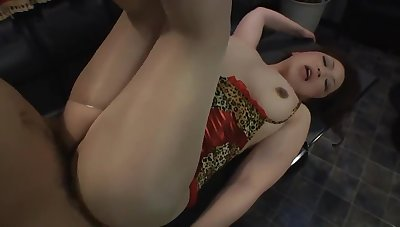 Breasty asian mommy hardcore porn clip