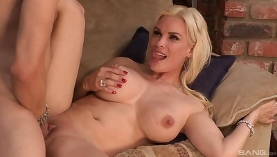 Blonde mom takes cock seriously and loves the hardcore