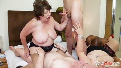 AgedLovE British Matures Gangbang Sexual Party