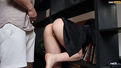 Hot stepmother specially doesn't lay hold of panties
