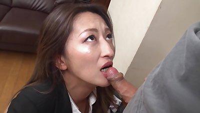 Fukiishi Rena A Prank Anent Rub-down the Beautiful Milf Office Foetus
