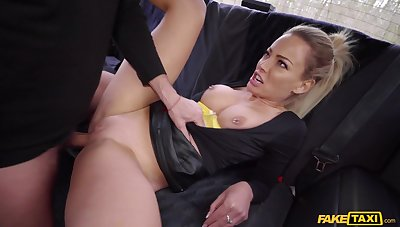 Rough at hand tushie porn for a busty MILF burning