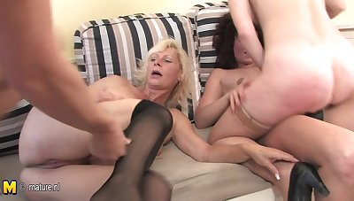 One Guy Who Loves To Fuck Two Mature Sluts - MatureNL