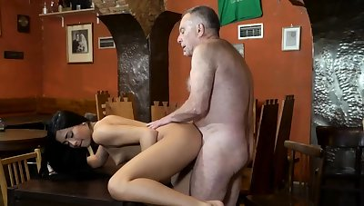 Teen gagging anal together with daddy teaches xxx Bed basically you trust