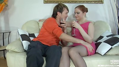 Russian MILF Romantic Date Sex Videotape