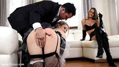 Kendra Eminence & Chessie Kay & Seth in Spanking And Banging, Part 1 - KINK