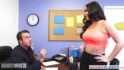 Juggy secretary Rachele Richey does everything her boss desires